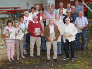 50/60/75 Jahre Mitgliedschaft